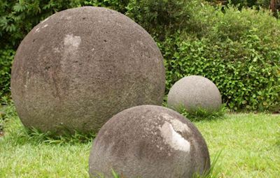 Esferas precolombinas Símbolo Patrio