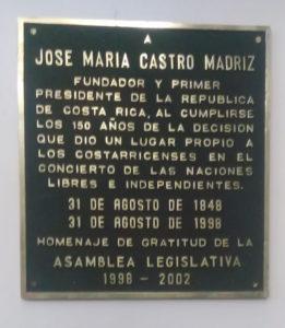 José María Castro Madriz