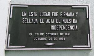 Independencia Cosa Rica