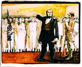 La Campaña Nacional de 1856 lucha por la independencia y la libertad